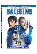 VALERIAN -BLU RAY+ DVD -