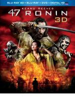 47 RONIN -BLU RAY + BLU RAY 3D + DVD