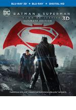 BATMAN V SUPERMAN -BLU RAY 3D + BLU RAY + DVD -