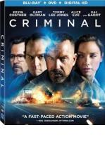 MENTE IMPLACABLE (CRIMINAL) -BLU RAY + DVD -