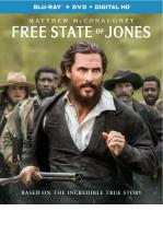 FREE STATE OF JONES -BLU RAY + DVD -