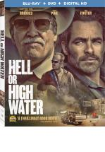 HELL OR HIGH WATER -BLU RAY+ DVD -