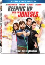 KEEPING UP WITH THE JONESES -BLU RAY + DVD -