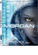 MORGAN -BLU RAY + DVD -