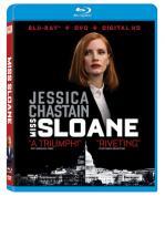 MISS SLOANE -BLU RAY + DVD -
