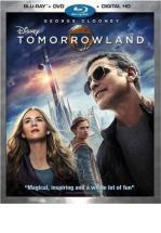 TOMORROWLAND -BLU RAY + DVD -