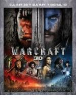 WARCRAFT -BLU RAY 3D + BLU RAY -