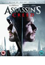 ASSASSIN'S CREED -BLU RAY 3D+ BLU RAY + DVD