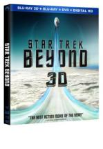 STAR TREK BEYOND -BLU RAY 3D + BLU RAY + DVD