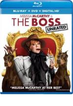 THE BOSS - BLU RAY + DVD -