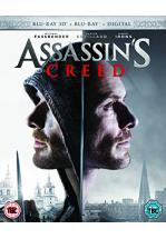ASSASSIN'S CREED -BLU RAY 3D+ BLU RAY + DVD