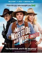 A MILLION WAYS TO DIE IN DE WEST - BLU RAY + DVD -