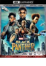 BLACK PANTHER -BLU RAY + BLU RAY 4K + DVD -