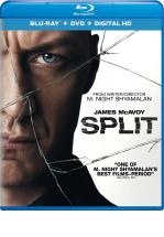 FRAGMENTADO - SPLIT -BLU RAY + DVD -