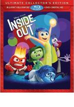 INTENSAMENTE -INSIDE OUT- BLU RAY 3D + BLU RAY + DVD-
