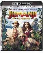 JUMANJI : EN LA SELVA -BLU RAY + BLU RAY 4 K + DVD -