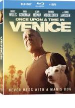 ONCE UPON A TIME IN VENICE -BLU RAY + DVD -