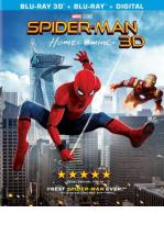 SPIDER-MAN : DE REGRESO A CASA -BLU RAY 3 D + BLU RAY + DVD -