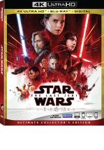 STAR WARS (EPISODIO 8) -LOS ULTIMOS JEDI- BLU RAY+ BLU RAY 4K + DVD -