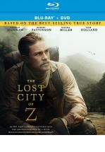 THE LOST CITY OF Z -BLU RAY + DVD -