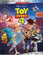 TOY STORY 4  -BLU RAY + DVD -