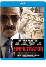 THE INFILTRATOR -BLU RAY + DVD -