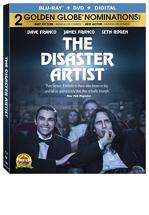 THE DISASTER ARTIST -BLU RAY + DVD -