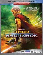 THOR: RAGNAROK -BLU RAY + DVD -