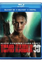TOMB RAIDER -BLU RAY 3D + BLU RAY+ DVD-