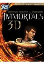 INMORTALES - IMMORTALS - BLU RAY 3D - BLU RAY