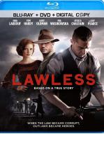 SIN LEY - LAWLESS - BLU RAY