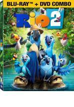 RIO 2 BLU-RAY 3D + BLU-RAY + DVD